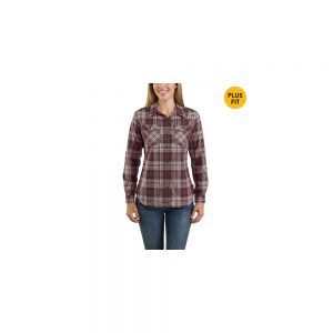 Carhartt Women's Rugged Flex Button Long Sleeve Shirt