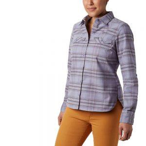 Columbia Women's Silver Ridge Flannel Long Sleeve Shirt