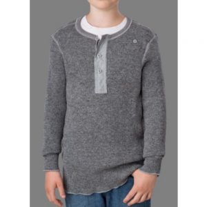 Stanfield Kids Placket Sweater