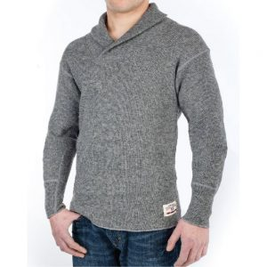Stanfield Men's Shawl Collar Sweater
