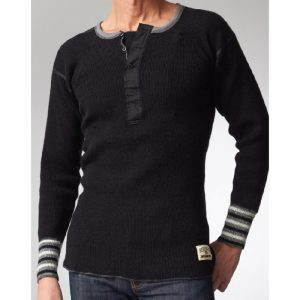 Stanfield Men's Wool Henley Sweater