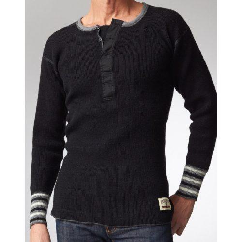 Stanfield Men's Wool Henley Sweater
