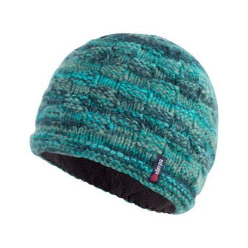 Sherpa Basket Weave Rimjhim Hat